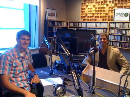 Adam Lowry and Donald Simon in Studio