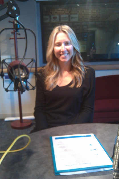 Jessie Denver, CEO of Group Energy in Studio