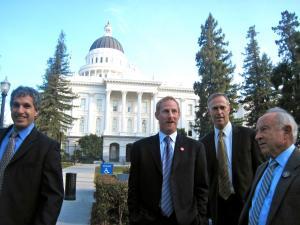 Photo of Simon, Gilbert, Huffman and Chouinard