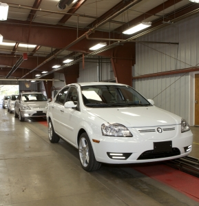 First CODA car comes off the production line