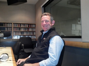 Mark Dwight of Rickshaw Bagworks visits The Wendel Forum Studio